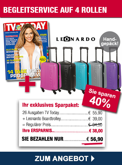 TV TODAY Sparpaket Trolley