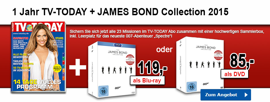 TV Today James Bond Collection 2015