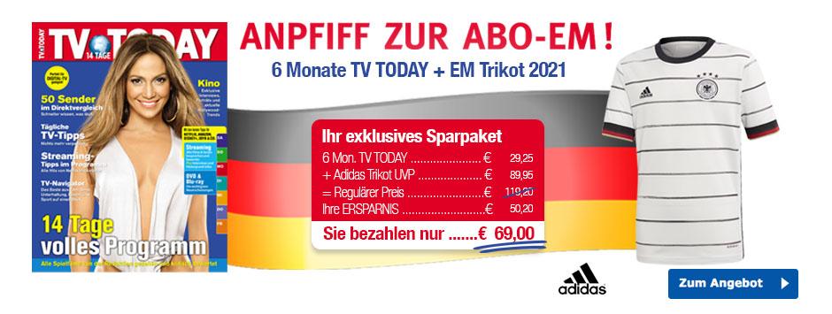 TV TODAY - EM Trikot 2021
