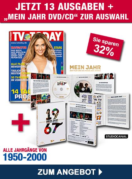 TV TODAY - Mein Jahr DVD/CD