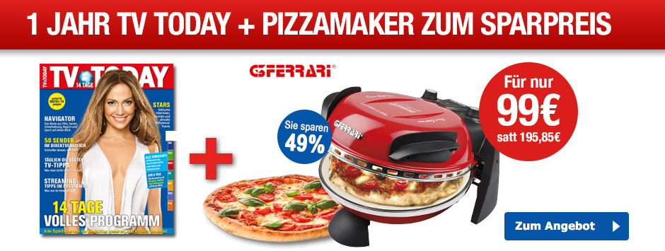TV TODAY Pizzamaker Sparpaket