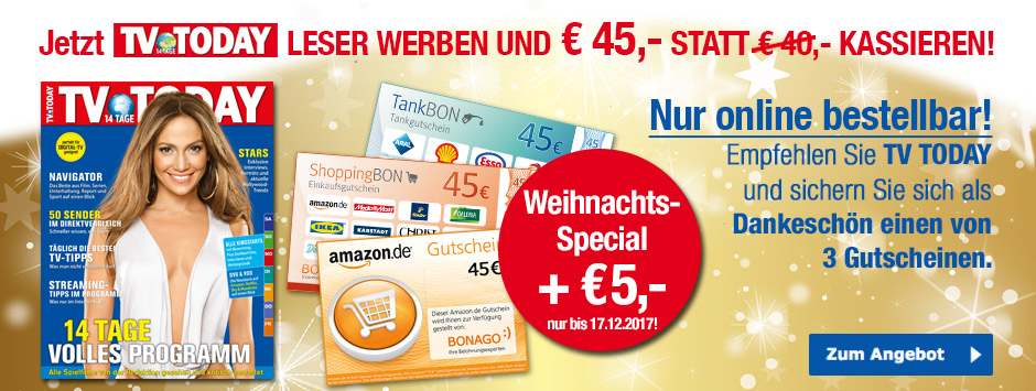 TV Today Weihnachtsspecial