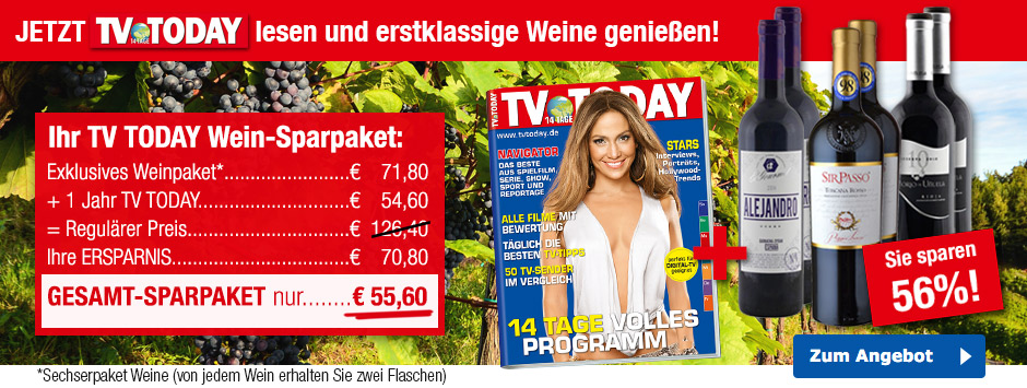 TV TODAY - Weinpaket2017