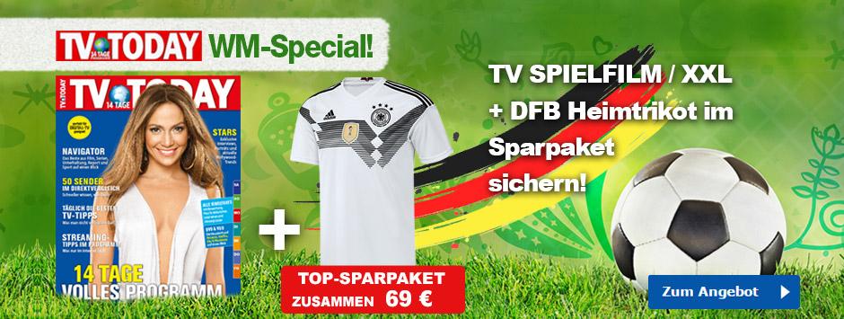 TV TODAY - WM Trikot 2018