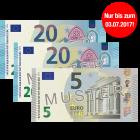45 € Verrechnungsscheck