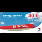TOTAL-Tankgutscheine im Wert von 40 EUR