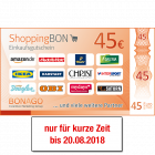 45 EUR ShoppingBON