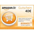 40 € Amazon.de Gutschein