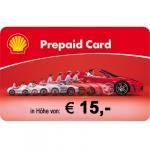 Shell Tankgutschein 15 EUR