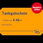 JET-Tankgutschein 45 EUR
