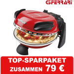 GFERRARI Delizia Pizzamaker Expressofen mit 400 Grad