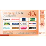 ShoppingBON über 40 Euro