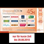 45 EUR ShoppingBON