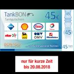 45 EUR TankBon
