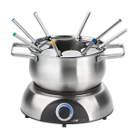 Elektrisches Fondue Set
