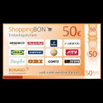 ShoppingBON über 50 EUR